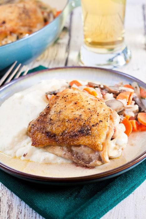 30-minute-bistro-chicken-with-tarragon-mustard-sauce