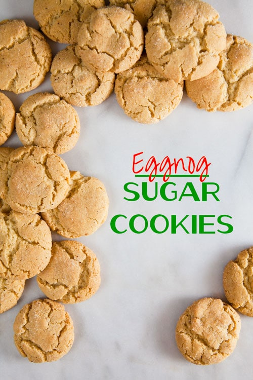 These crunchy eggnog sugar cookies are a festive addition to any ...