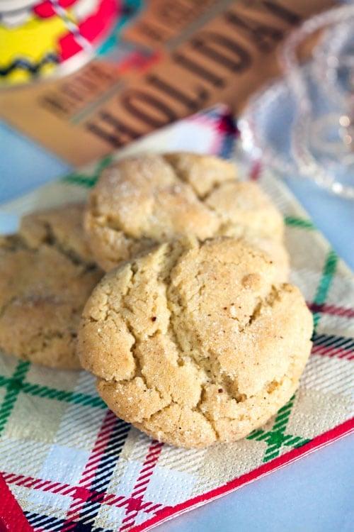 Eggnog-Sugar-Cookies