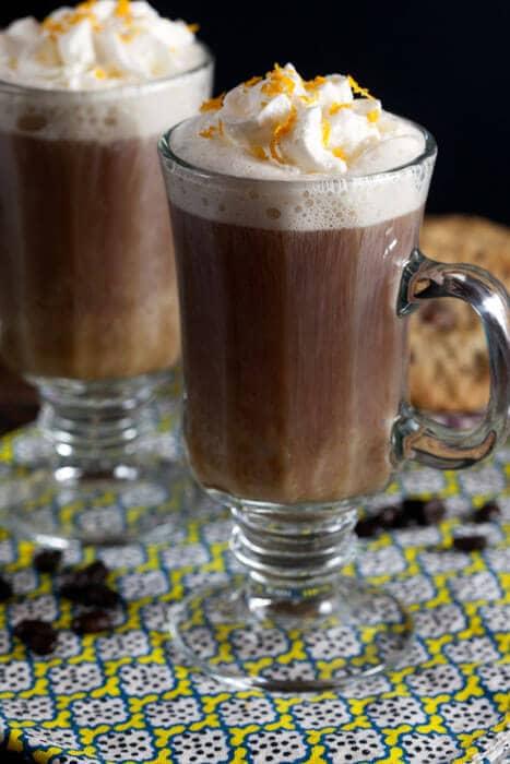 Orange Cardamom Dessert Coffee Rum Coffee Drinks