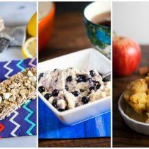 20 Make Ahead Breakfast Recipes