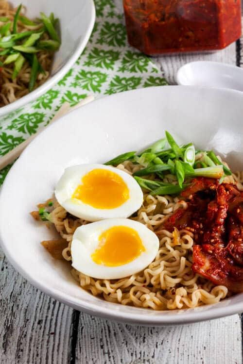 Spicy Kimchi Ramen via @HealthyDelish