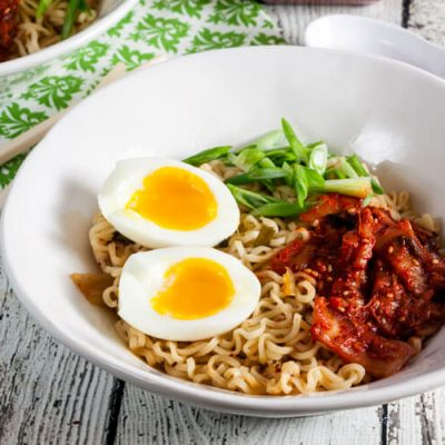Easy Kimchi Ramen