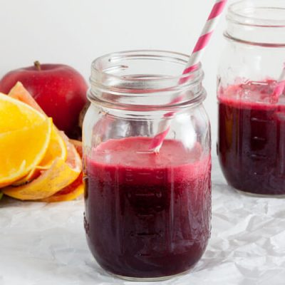 Citrus Sunrise {Beet, Grapefruit, and Carrot Juice}