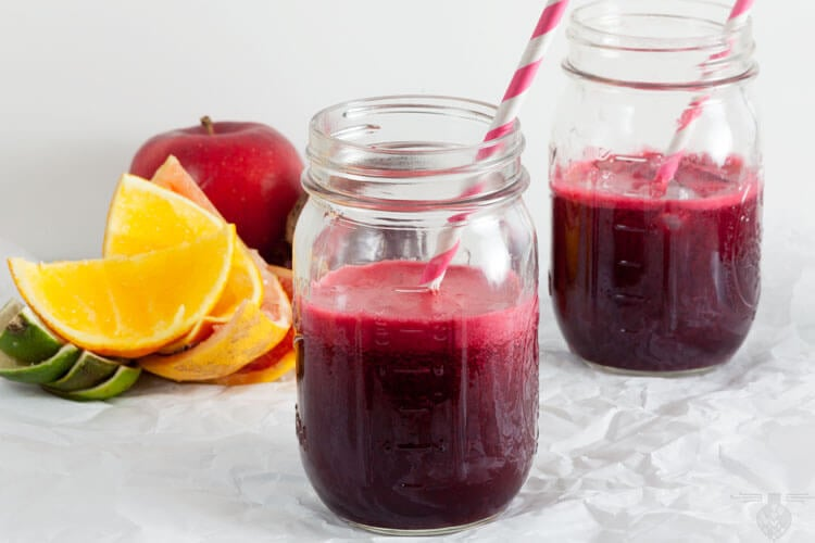 Citrus Sunrise: Beet, Grapefruit, Carrot Juice
