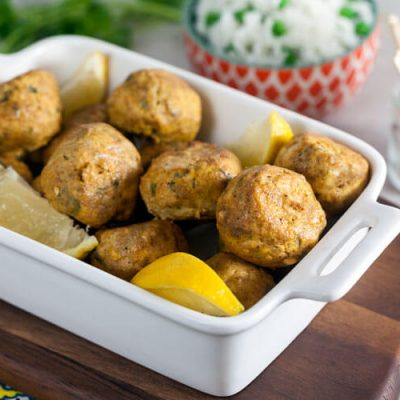 Tandoori Chicken Meatballs