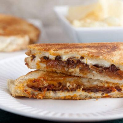 Italian Eggplant Grilled Cheese