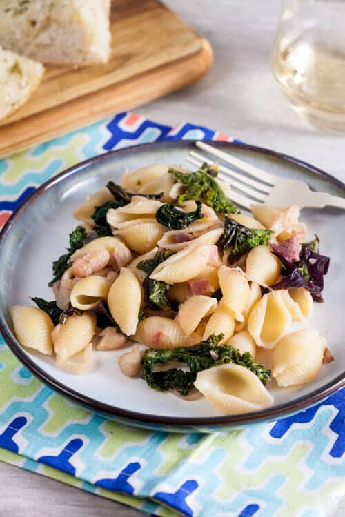 Beans and Greens Pasta 1