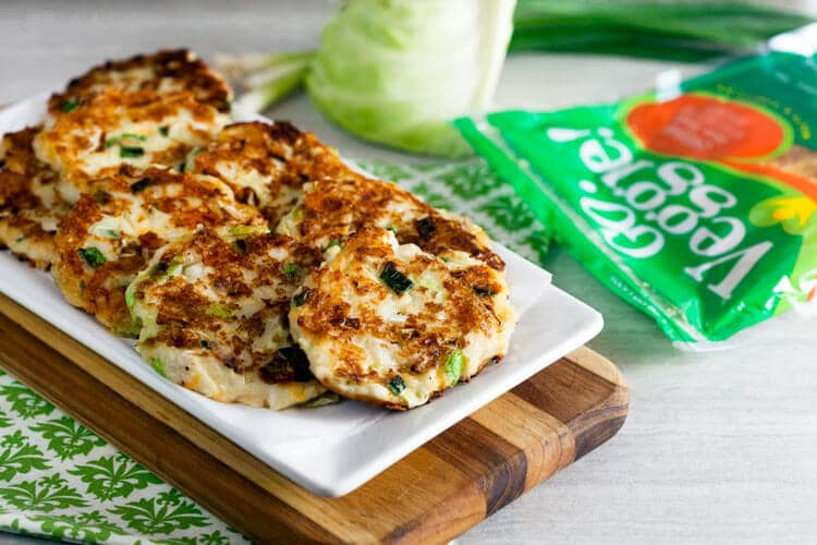 Cheesy Colcannon Cakes (Irish Potato Pancakes).