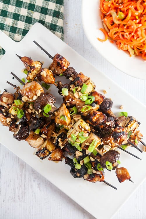 Hoisin Glazed Chicken Kabobs Recipe
