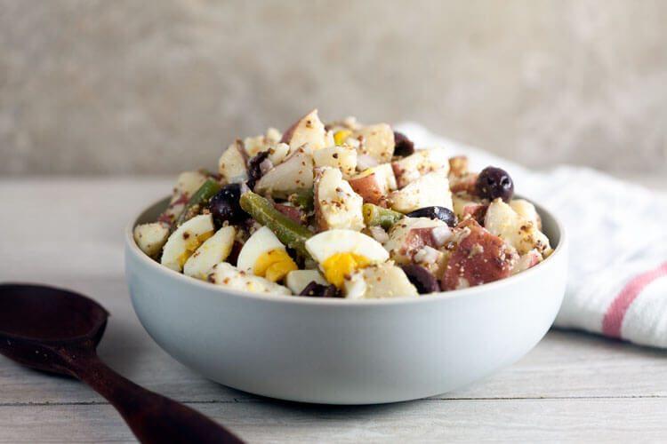 Nicoise Style Potato Salad
