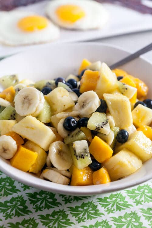 are fruit sugars healthy tropical fruit salad