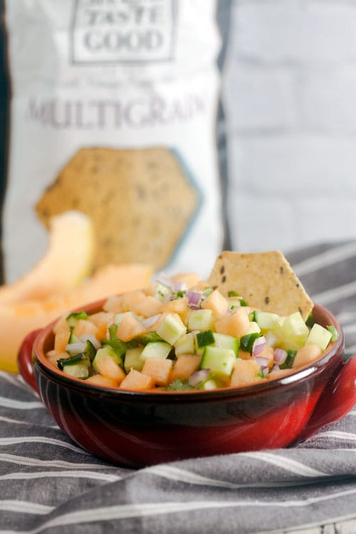 Easy Cantaloupe Salsa Recipe