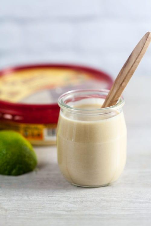 Homemade Hummus Vinaigrette Recipe