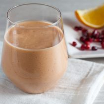 Pomegranate Orange Mango Smoothie – a delicious and easy breakfast packed with flavor!