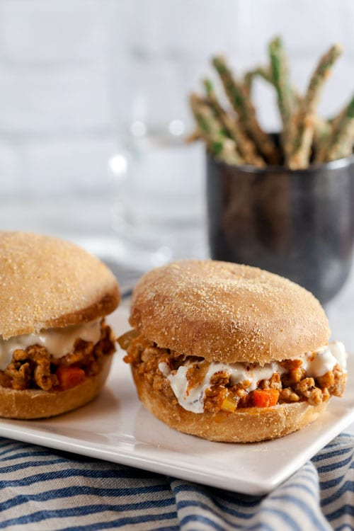 Easy Weeknight Buffalo Chicken Sloppy Joes Recipe