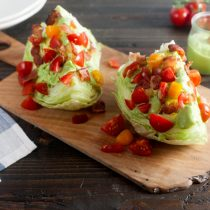 Avocado BLT Wedges Salad