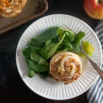 Turkey Apple Cheddar Rolls Recipe