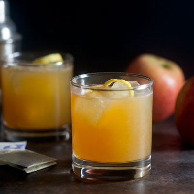 Earl Grey Apple Cider Cocktail