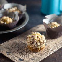 Spiced Sweet Potato Streusel Blender Muffins Recipe (Less Sugar)