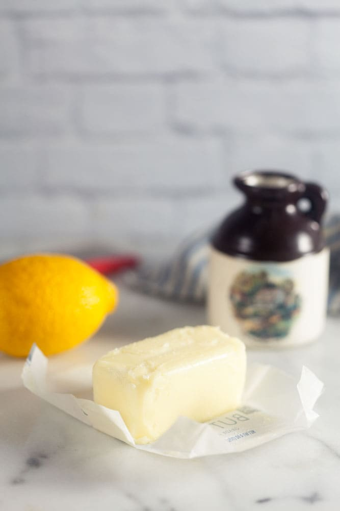 How to make maple lemon compound butter