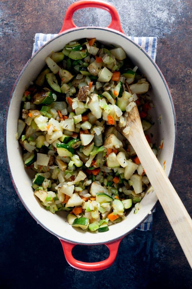 Roast Vegetable Soup (Whole 30) 1