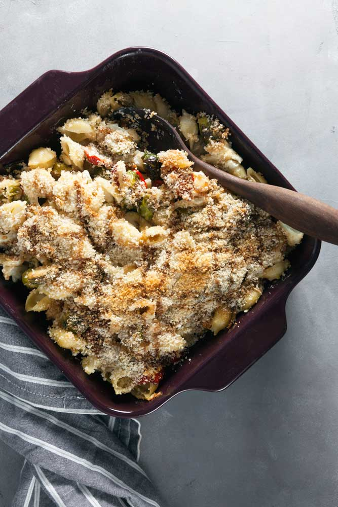 Lightened Up Winter Vegetable Macaroni and Cheese Recipe