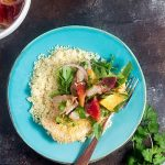 Baked Chicken Milanese with Citrus Salsa