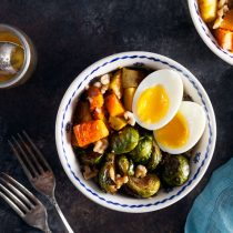 Winter Vegetable Quinoa Bowls with Brown butter