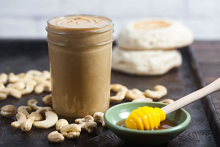 Honey Roasted Cashew Butter