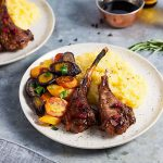 20 Minute Vanilla Balsamic Lamb Chops
