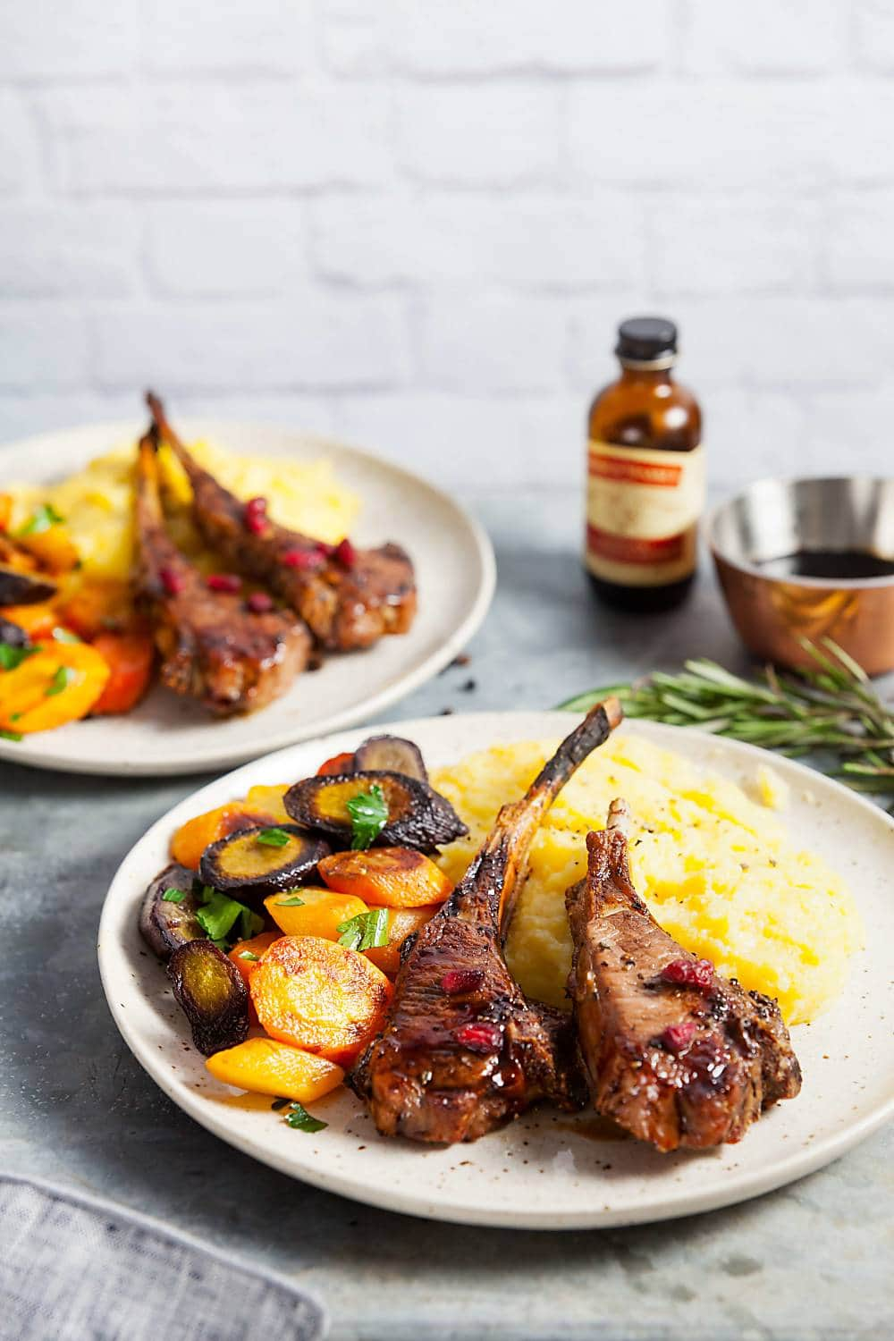 Vanilla Balsamic Lamb Chops