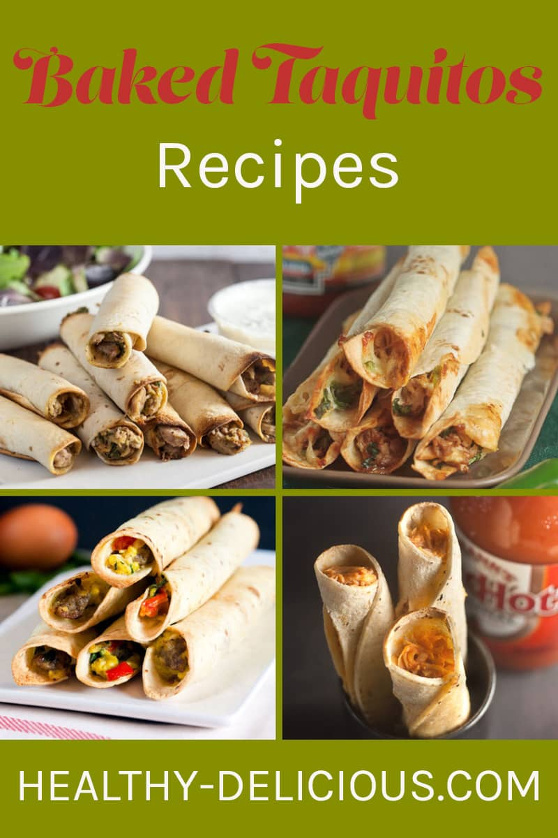 Healthy Baked Taquitos Recipes