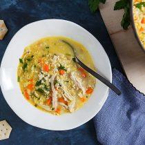 Chicken Cauliflower Rice Soup (Whole 30) 5