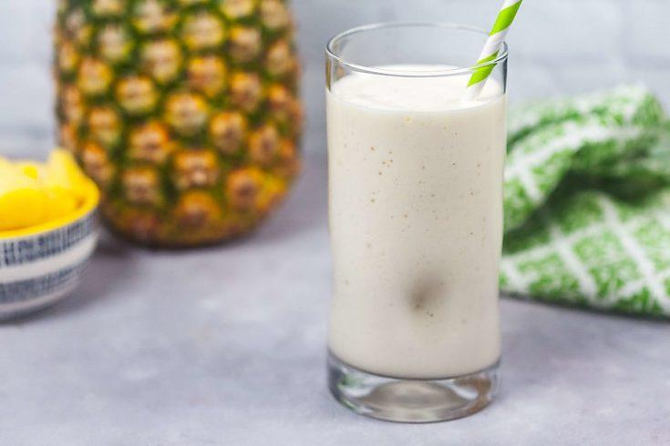 Piña Colada Protein Shake 1