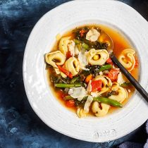 30-Minute Tortellini Vegetable Soup Photo