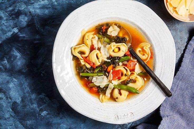 30-Minute Tortellini Vegetable Soup 2