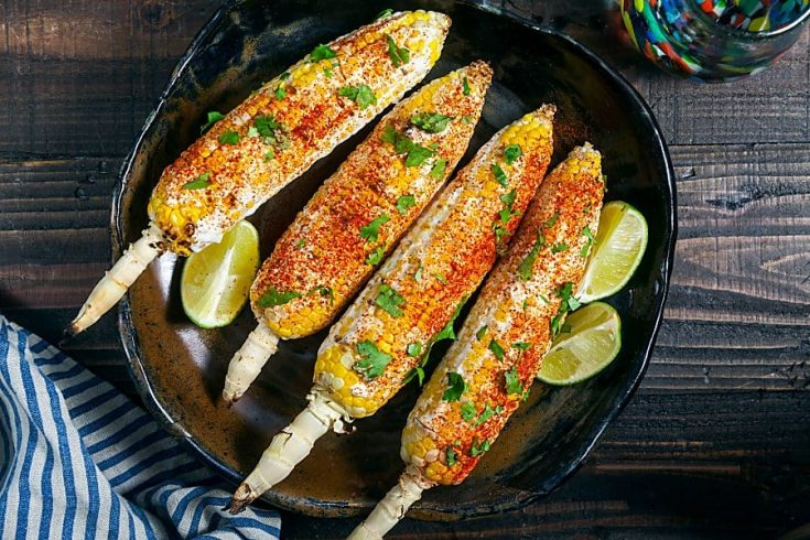 Grilled Corn on the Cob with Goat Cheese and Smoked Paprika 3