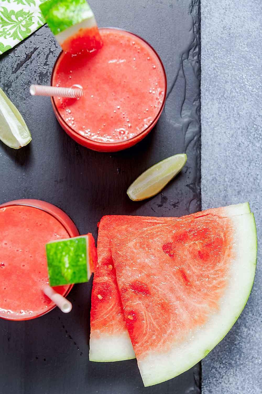 Easy Watermelon Smoothie 4 Ingredients