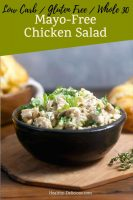 Mayo-Free Chicken Salad Sandwiches with Lemon and Herbs 1