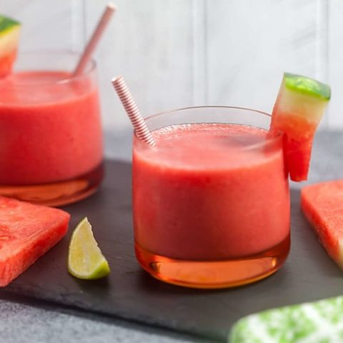 Easy Watermelon Smoothies 4 Ingredients