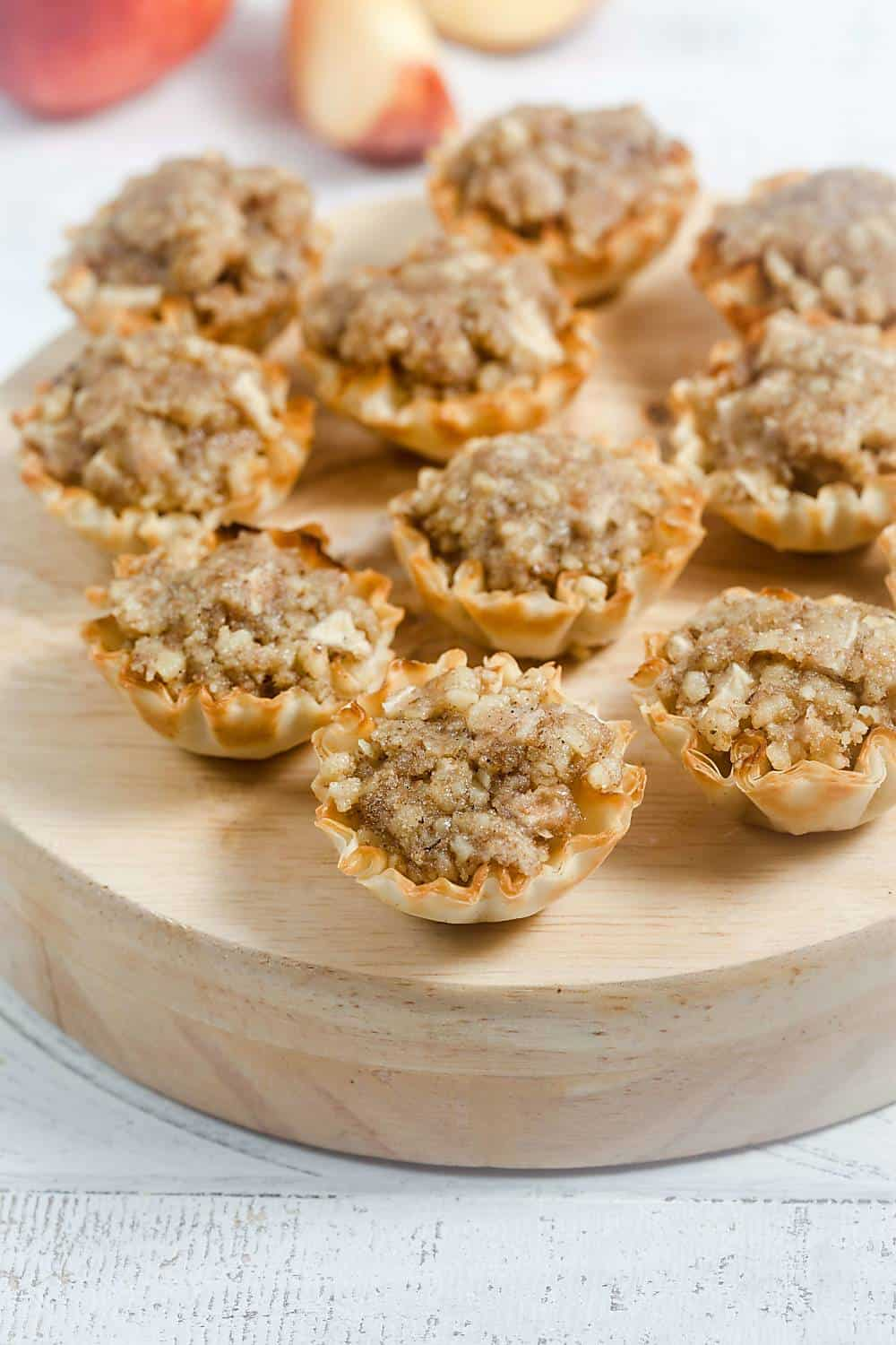 Easy Apple Baklava Bites
