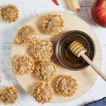 easy apple baklava bites