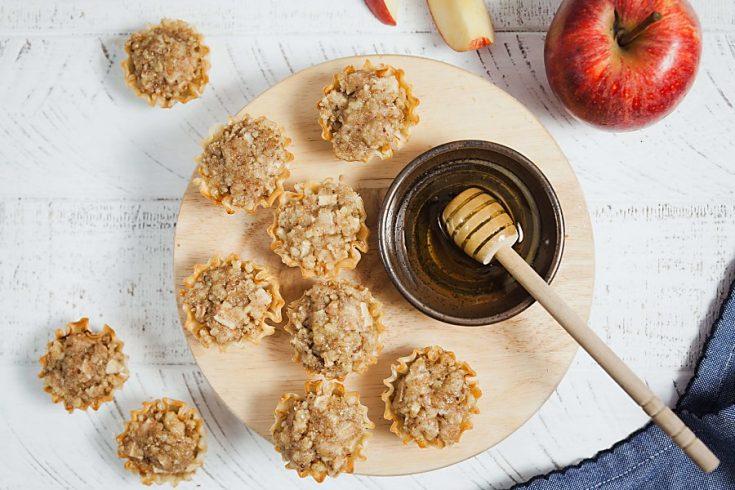 Easy Apple Baklava Bites 1