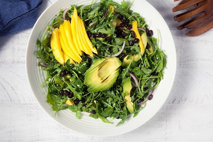 Mango, Avocado and Black Bean Salad 1