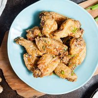 Baked Sesame Chicken Wings (Whole 30)