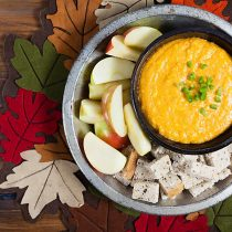 Pumpkin Beer Cheese Dip