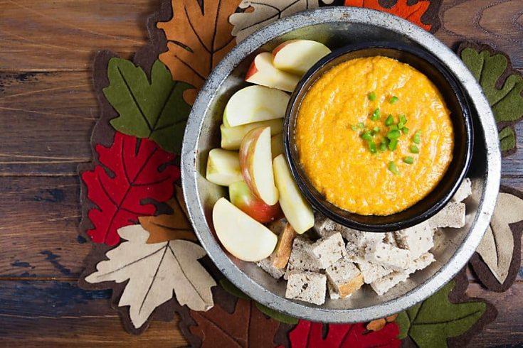 Pumpkin Beer Cheese Dip 1