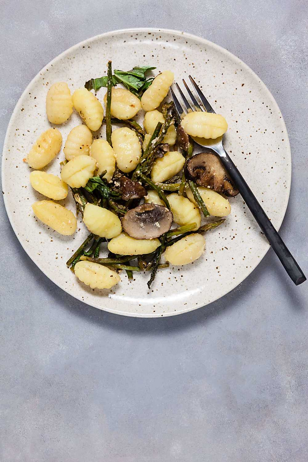 Lemon-Parmesan Gnocchi with Mushrooms (Sheet Pan Dinner)