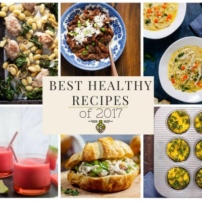 Best Healthy Delicious Recipes of 2017